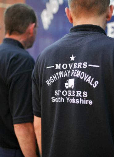 Three Removal men from Rightway removals